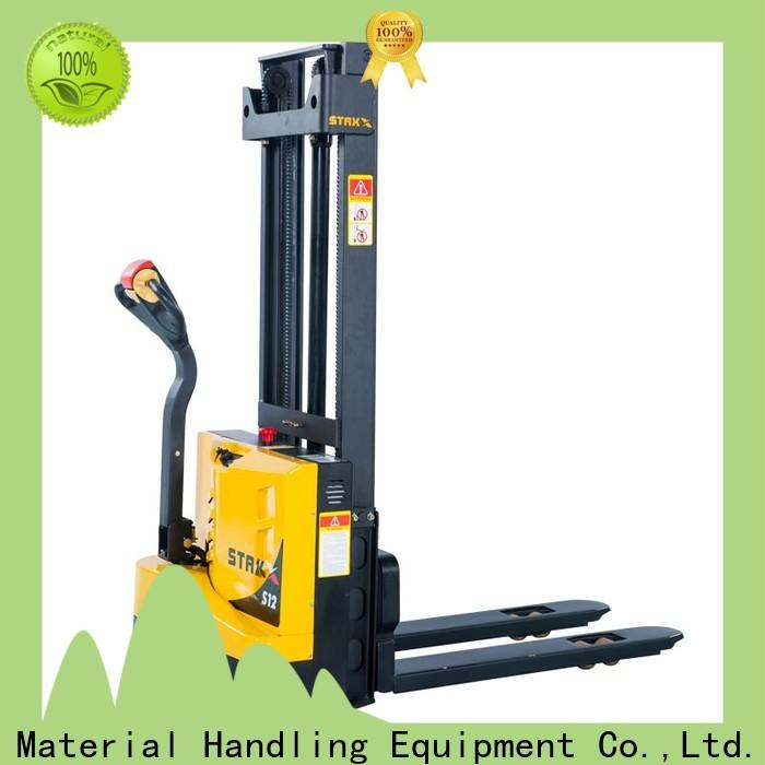 Staxx pedestrian used electric pallet truck Suppliers for stairs
