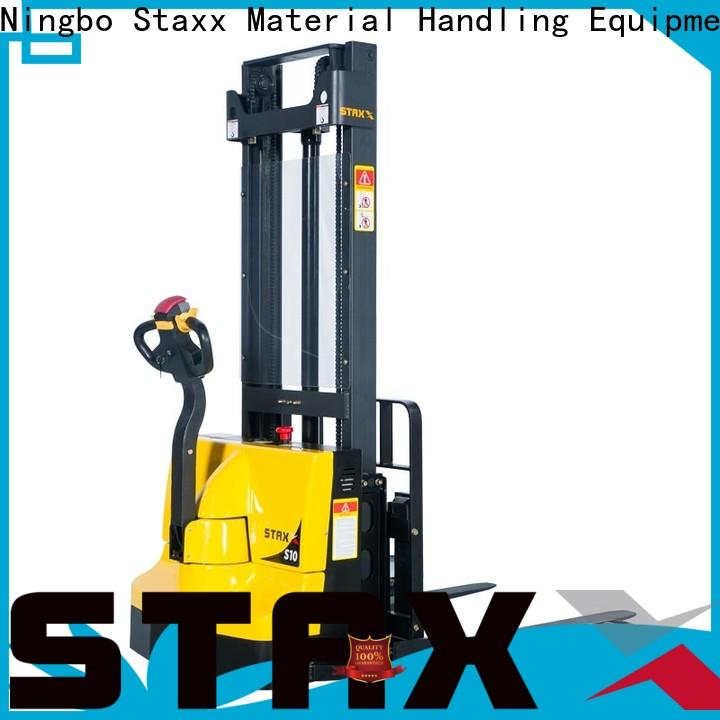 Staxx Top electric hand pallet truck factory for warehouse