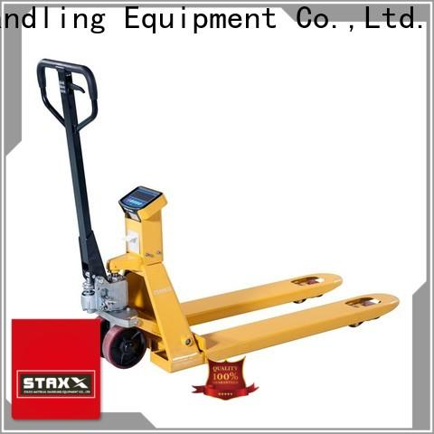 Staxx scale hand pallet truck servicing Supply for hire