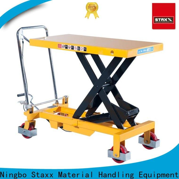 Staxx High-quality portable scissor lift table Suppliers for stairs