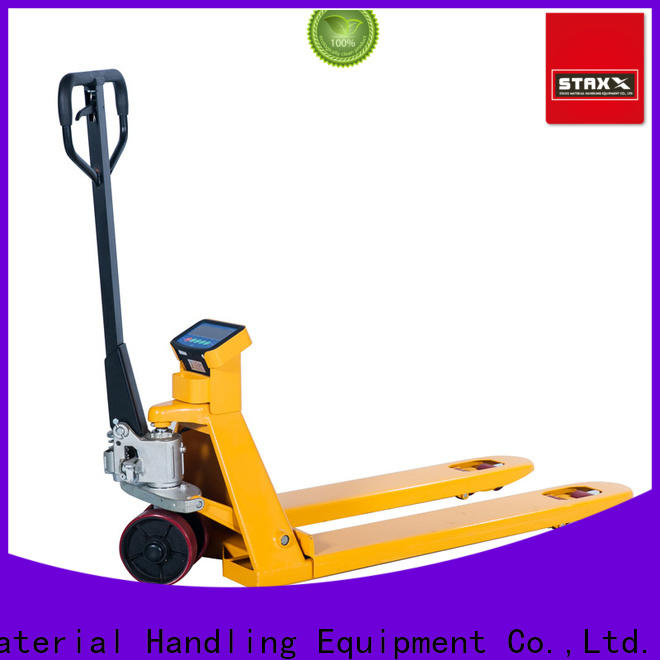 Staxx electric used hand pallet truck manufacturers for rent