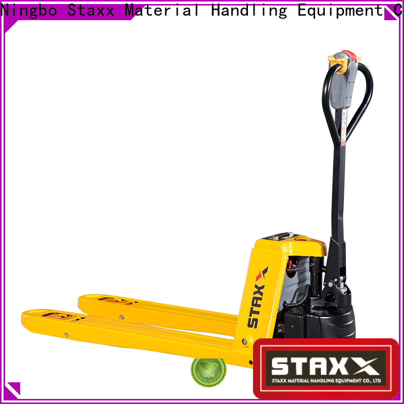 Staxx Top pallet jack casters company for hire