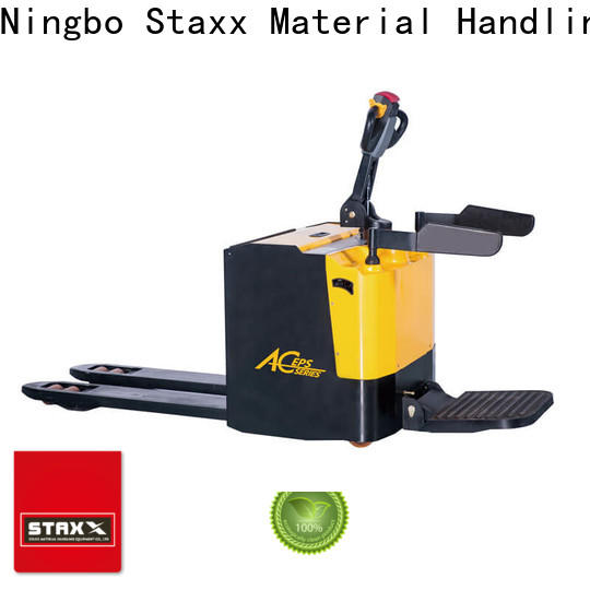 Staxx New motorized pallet lift company for hire