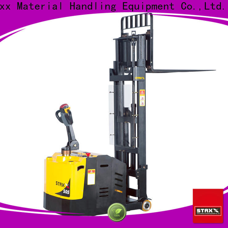 Custom reach pallet stacker duty factory for warehouse