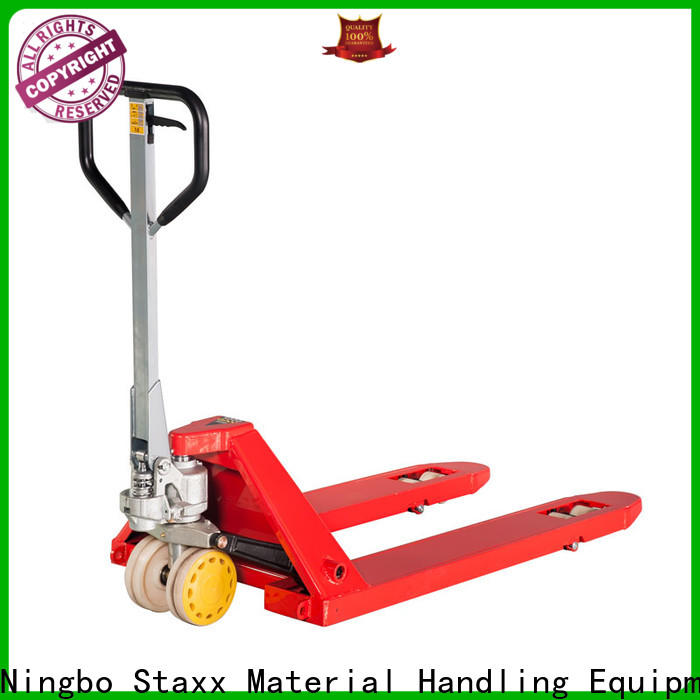Staxx High-quality single fork pallet truck factory for hire