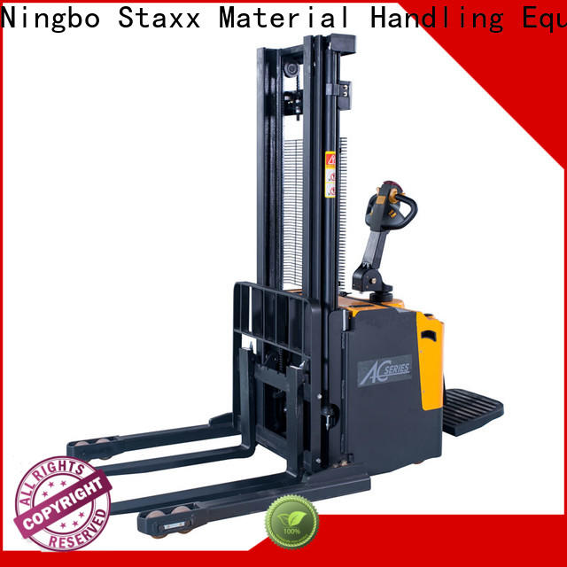 Staxx reach electric hydraulic stacker Suppliers for stairs