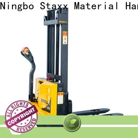 Staxx pws10ss15ssi used electric stacker forklift company for hire