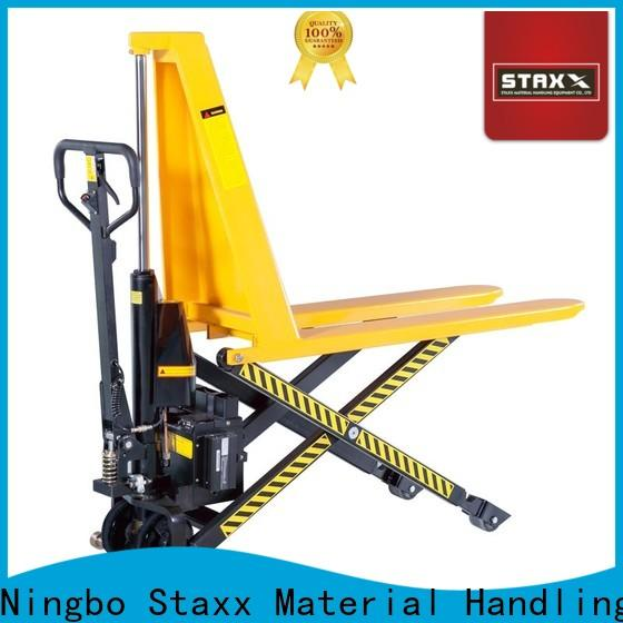 Latest high pallet jack lift manufacturers for warehouse