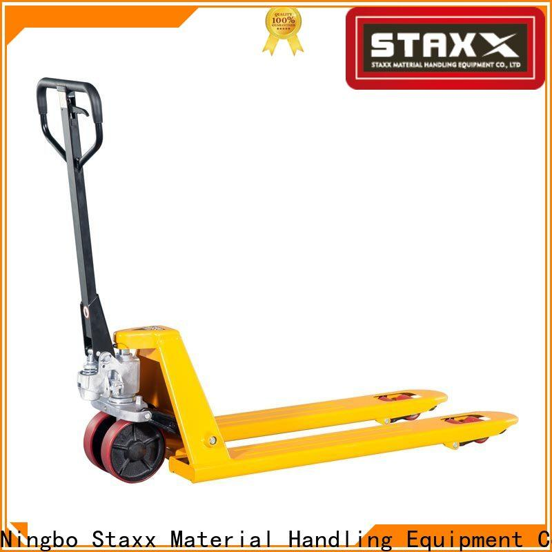 Staxx Wholesale stainless steel hand pallet truck company for stairs