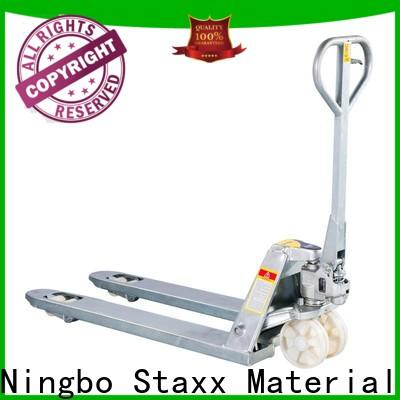 Staxx duty hand jack trolley company for warehouse