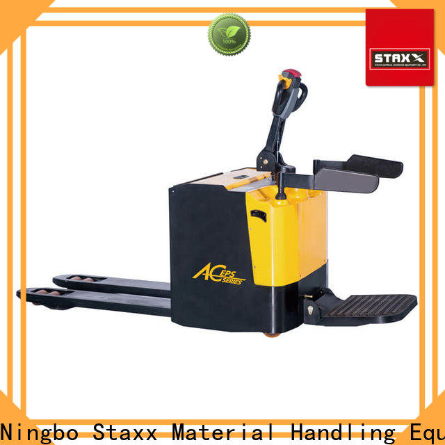 Staxx Custom lithium pallet jack factory for rent
