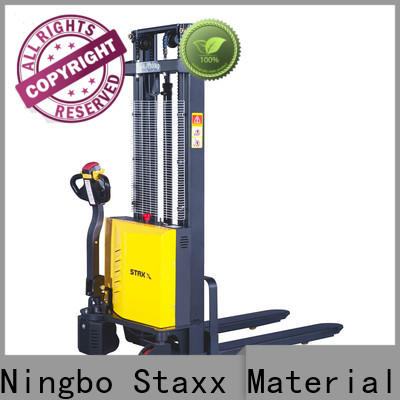 Staxx balance counterbalance electric stacker Suppliers for rent