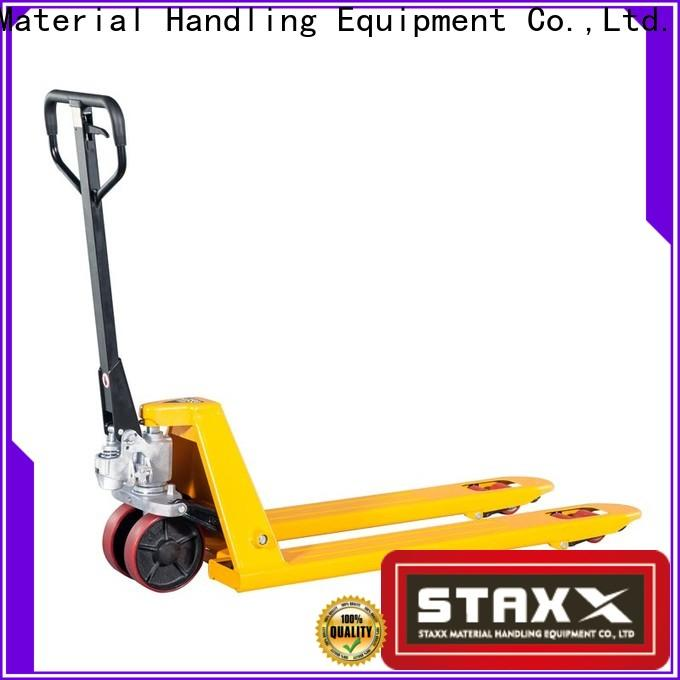 Staxx pallet high low pallet jack factory for warehouse