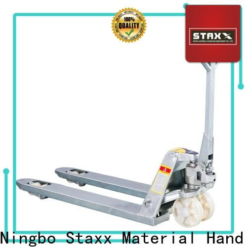 Staxx Latest pallet truck repairs factory for stairs