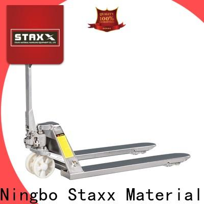 Staxx standard used hand pallet jack for business for hire