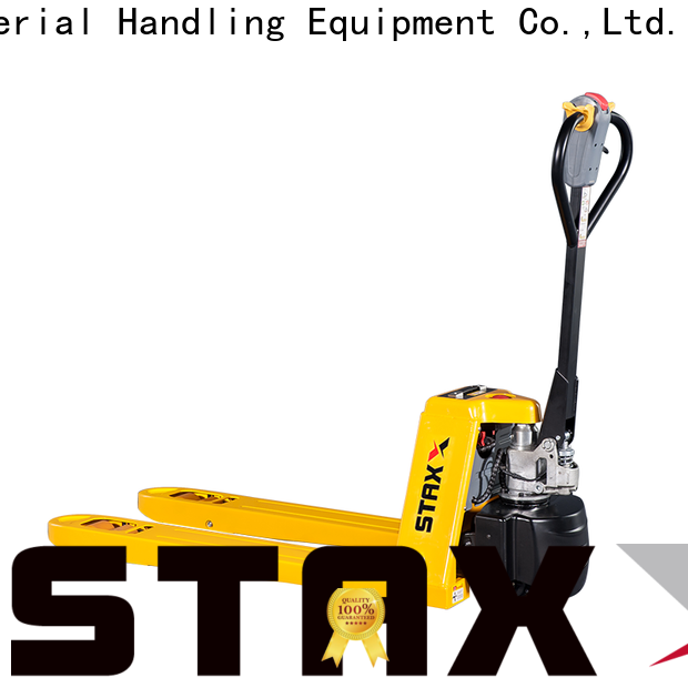 Staxx rpt2530 2nd hand pallet jack for business for hire