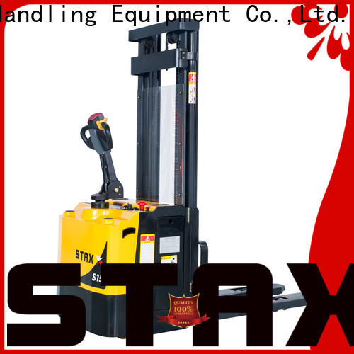 Staxx ws10s15sei full electric stacker manufacturers for stairs