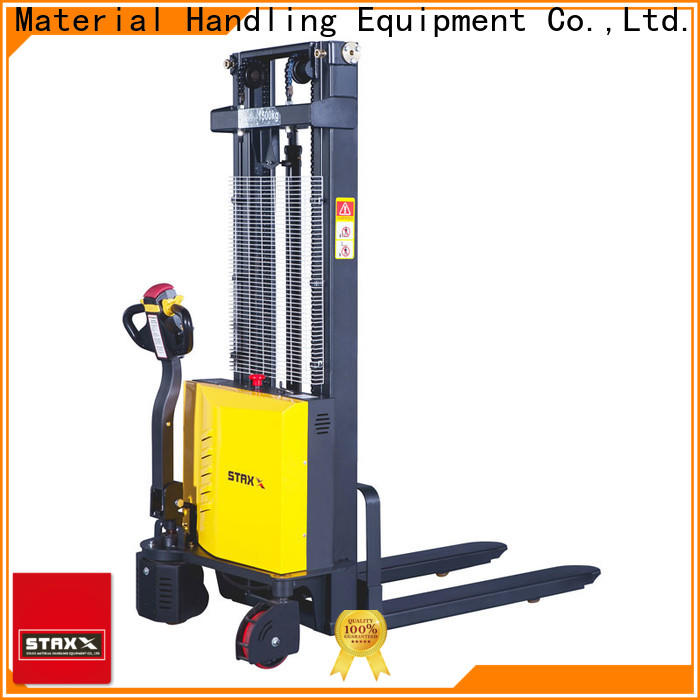 Staxx powered long pallet truck factory for hire