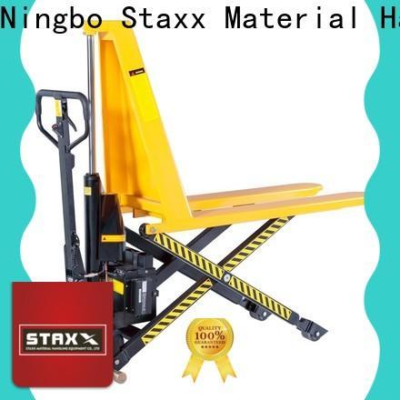Staxx Best platform pallet truck factory for rent
