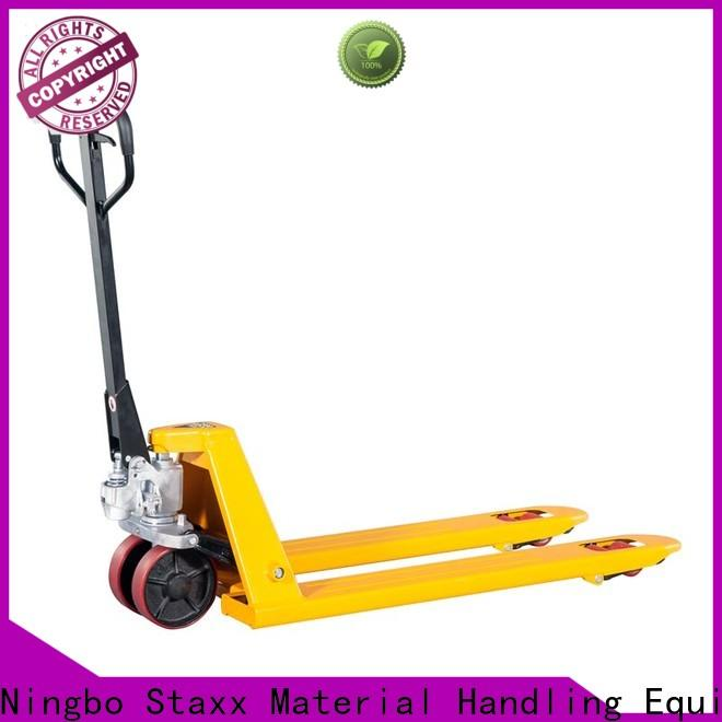 Staxx Latest pallet truck heavy duty company for warehouse