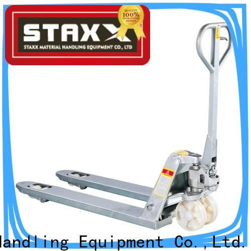 Staxx Wholesale global pallet jack factory for warehouse