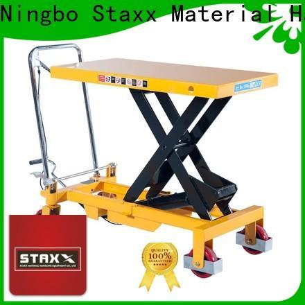 Staxx New aluminium scissor lift Supply for rent
