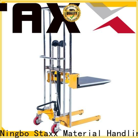 Staxx manual screw scissor lift table factory for stairs
