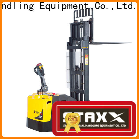 Staxx full electric pallet stacker training for business for hire