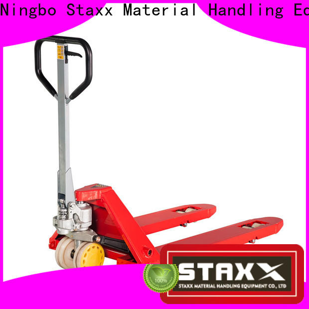 Staxx Latest pallet jack load wheels company for warehouse