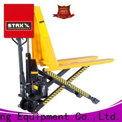 Staxx Custom pallet jack measurements Supply for hire