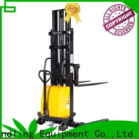 High-quality counterbalance electric stacker kg factory for warehouse