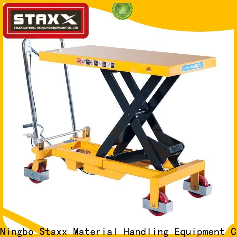 Latest hydraulic work table ps400 manufacturers for warehouse