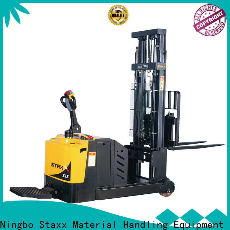 Staxx Wholesale electric stackers company for business for rent