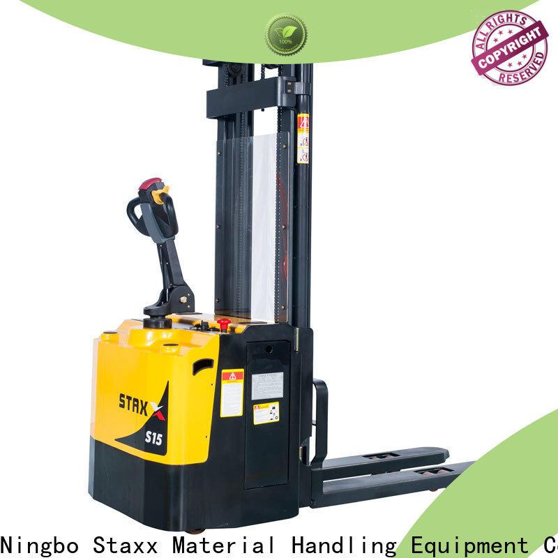 Custom manual pallet stacker mrs121520 for business for rent