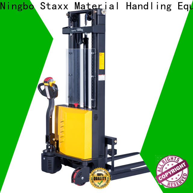 Staxx fully reach pallet stacker manufacturers for hire