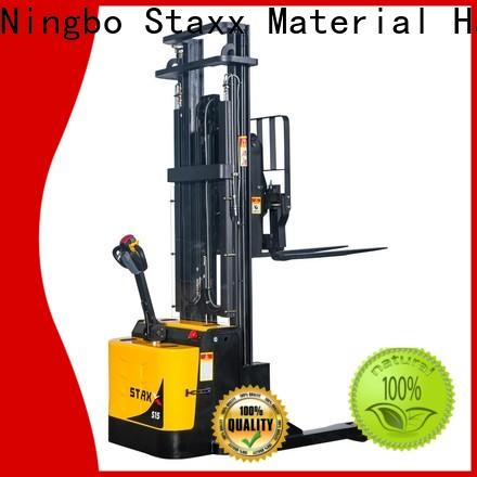 Staxx pantograph electric stackers supplier factory for rent