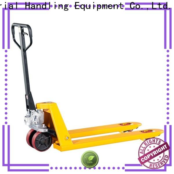 Wholesale all terrain pallet truck quick company for hire