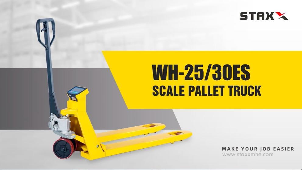 Wh-25/30es Scale Pallet Truck Wholesale