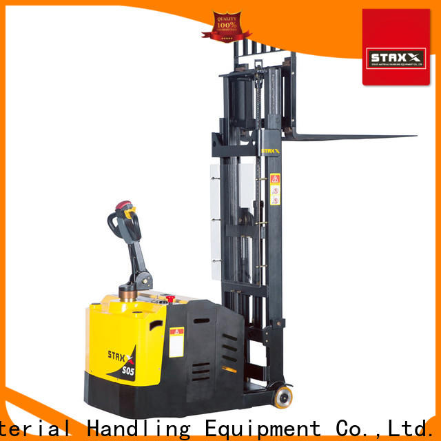 Staxx balance ride on pallet stacker for business for rent