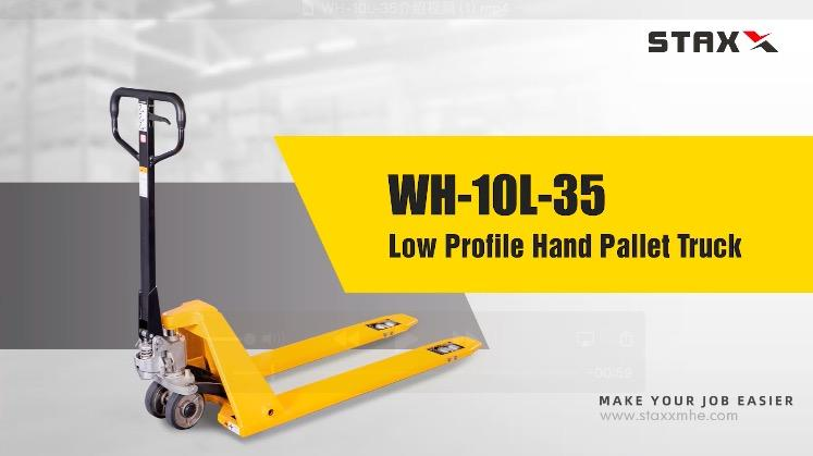 football locks China WH-10L-35 HAND PALLET TRUCK manufacturers
