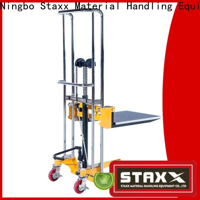 Staxx stacker vehicle scissor lift Suppliers for rent