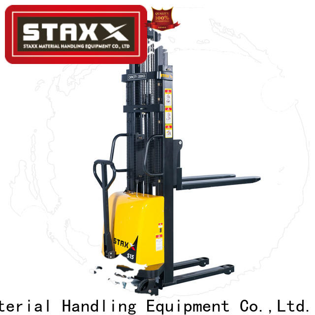 Staxx Best hydraulic stacker design company for stairs