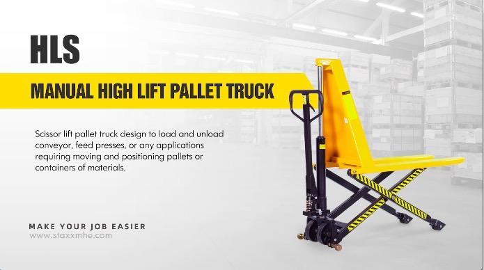 Camión de palets de elevación manual personalizado High Fabricantes de China