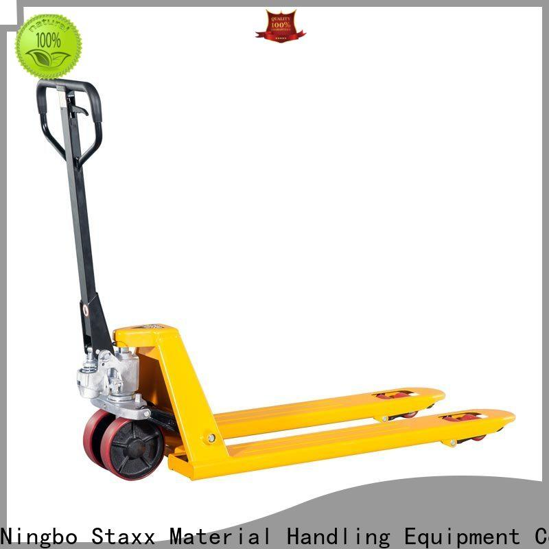 Staxx stainless 2nd hand pallet jack manufacturers for hire