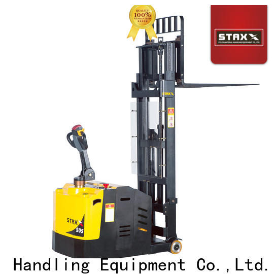 Latest electric pallet stacker training low factory for warehouse