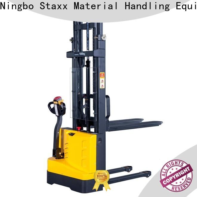 Staxx balance electric stackers agent Suppliers for hire