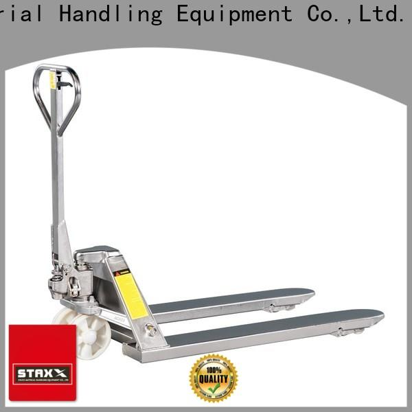 Staxx steel fork jack manufacturers for warehouse