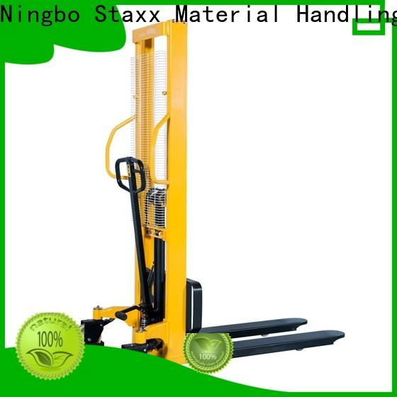 Staxx Latest electric stacker price company for stairs