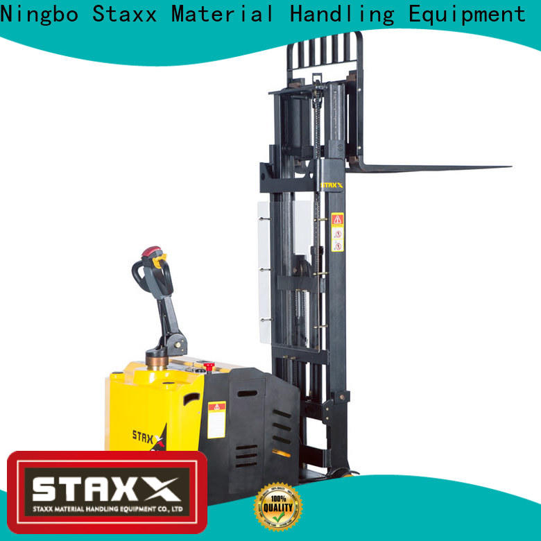 Staxx heavy manual forklift pallet stacker Suppliers for hire