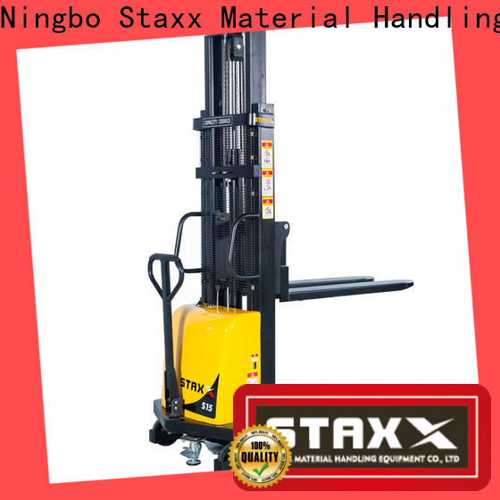 Staxx New straddle lift truck Suppliers for hire
